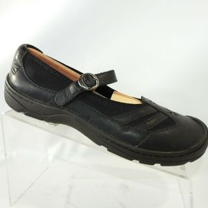 Keen KC 0611 Sz 9.5 M Black Mary Janes C2B C1